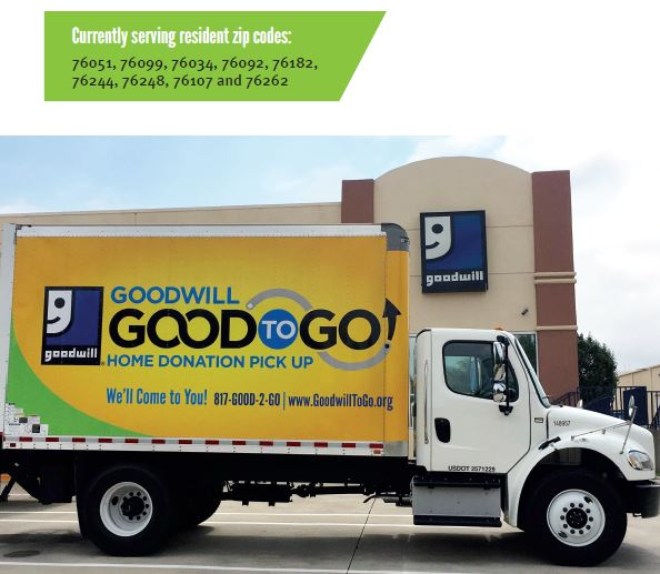 Goodwill To Go Home Pick Up Service Goodwill Industries