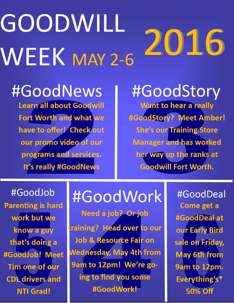 goodwill week