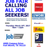 march jrc job fair 17