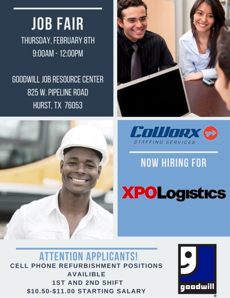 Job Fair at Hurst Job Resource Center | Goodwill Industries | Fort Worth
