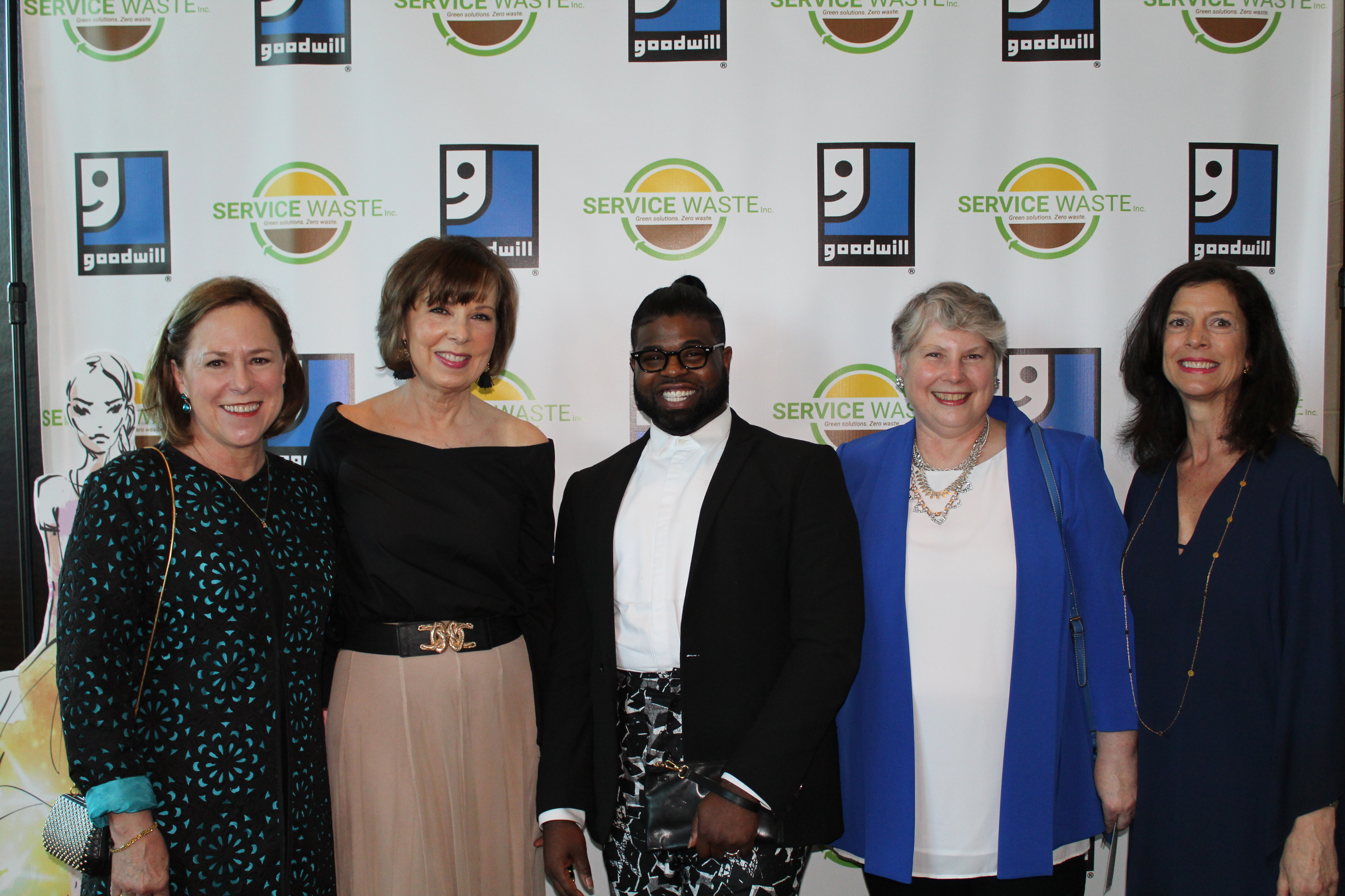 Claire Schmid, Holley Williams, Anthony L. Williams, Susan Leach and Sheila Owen