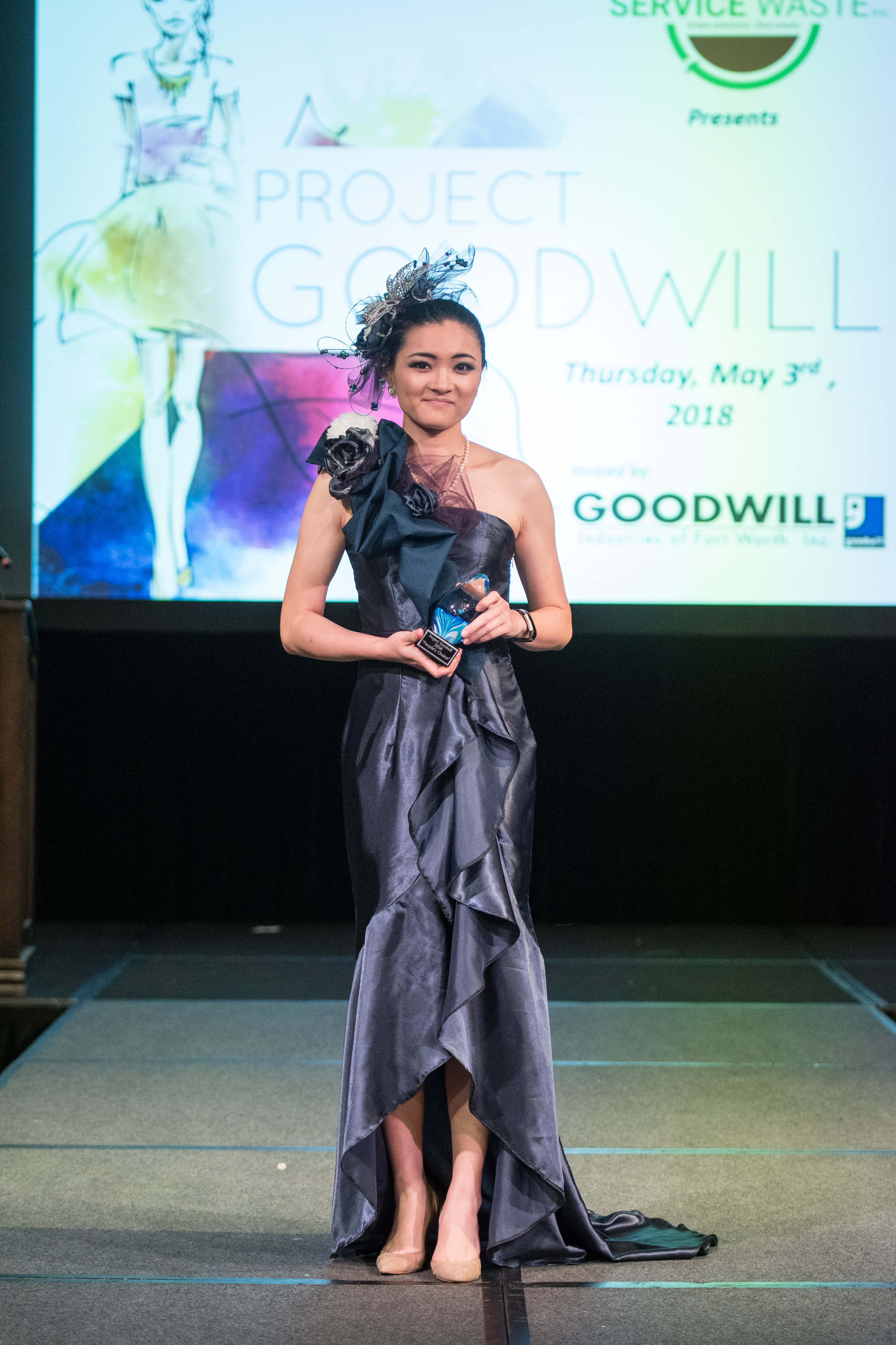 People's Choice - Designer and Model Shen Xu